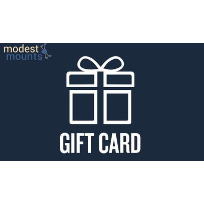 Gift Card - Modest Mounts