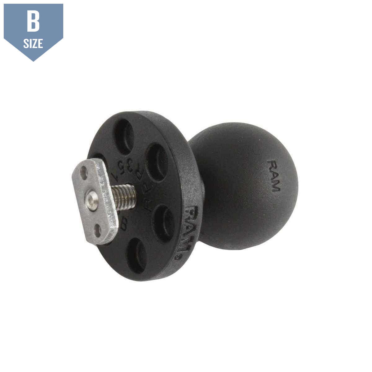 "RAM 1"" Track Ball for Flat Panels (RAP-B-375U)-Modest Mounts"