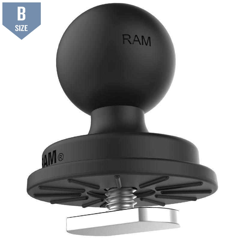 "RAM 1"" Track Ball With T-Bolt Attachment (RAP-B-354U-TRA1) - Modest Mounts"