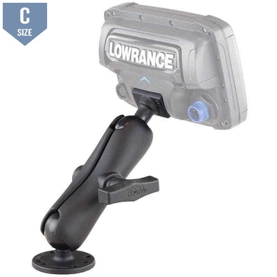 "RAM 1.5"" Ball Mount for Lowrance Elite-5 & Elite-7 tI (RAM-101-LO11) - Modest Mounts"
