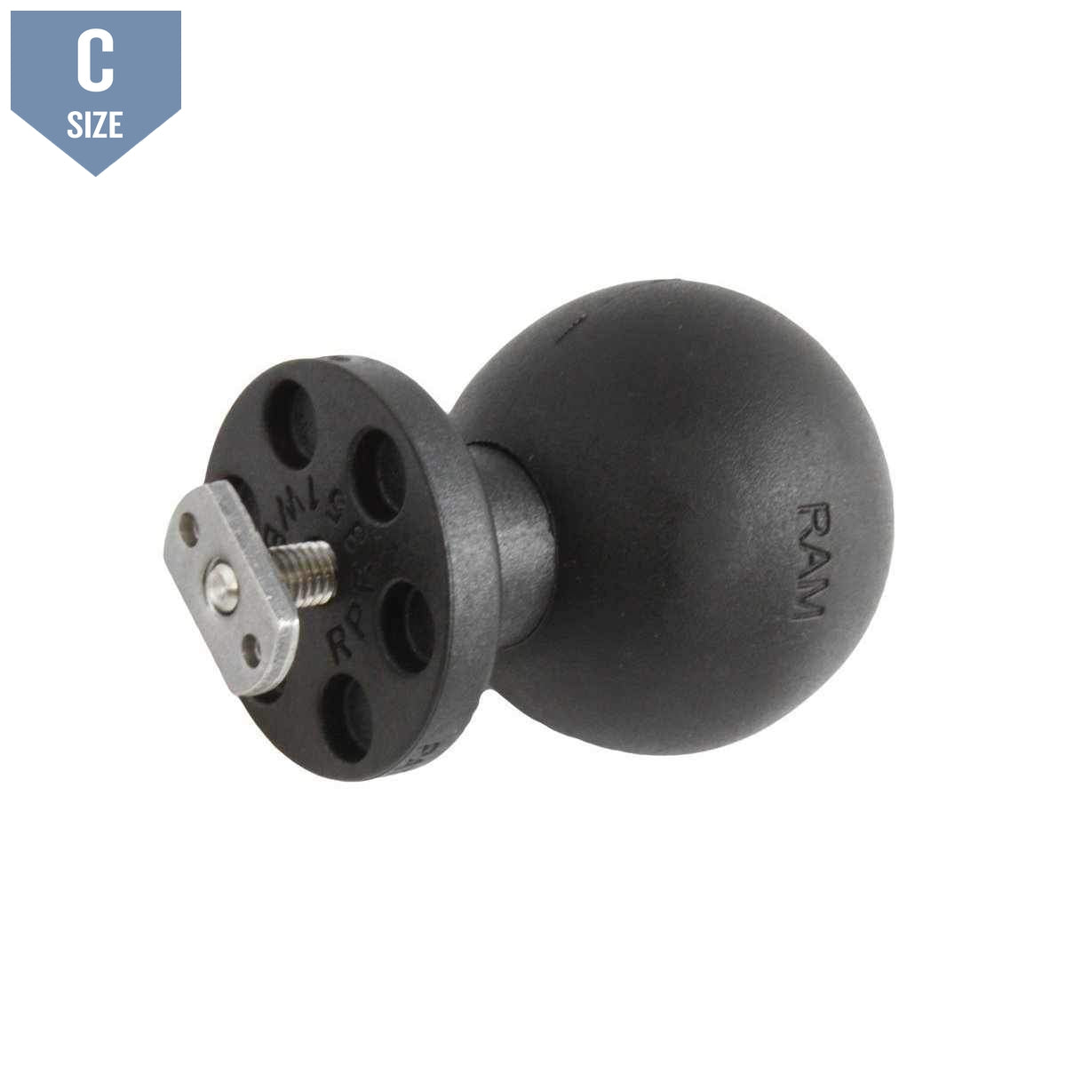 "RAM 1.5"" Track Ball for Flat Panels (RAP-375U)-Modest Mounts"