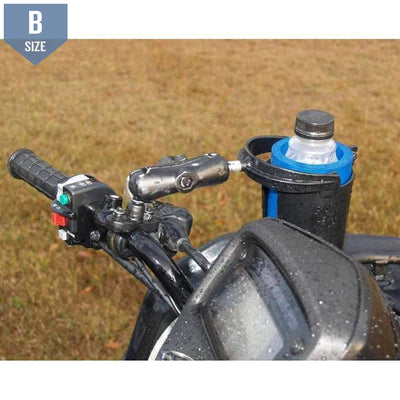 RAM Cup Holder Handlebar or Rail Mount (RAM-B-132RU)-Modest Mounts