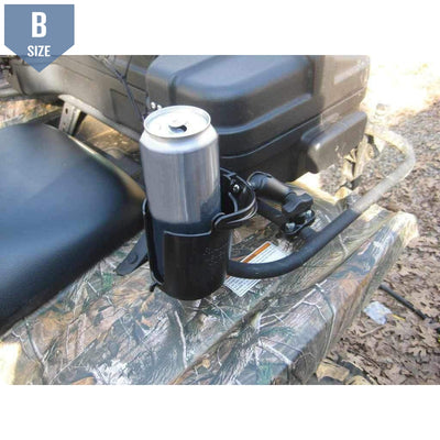 RAM Drink Holder Handlebar or Rail Mount (RAM-B-132RU) - Modest Mounts