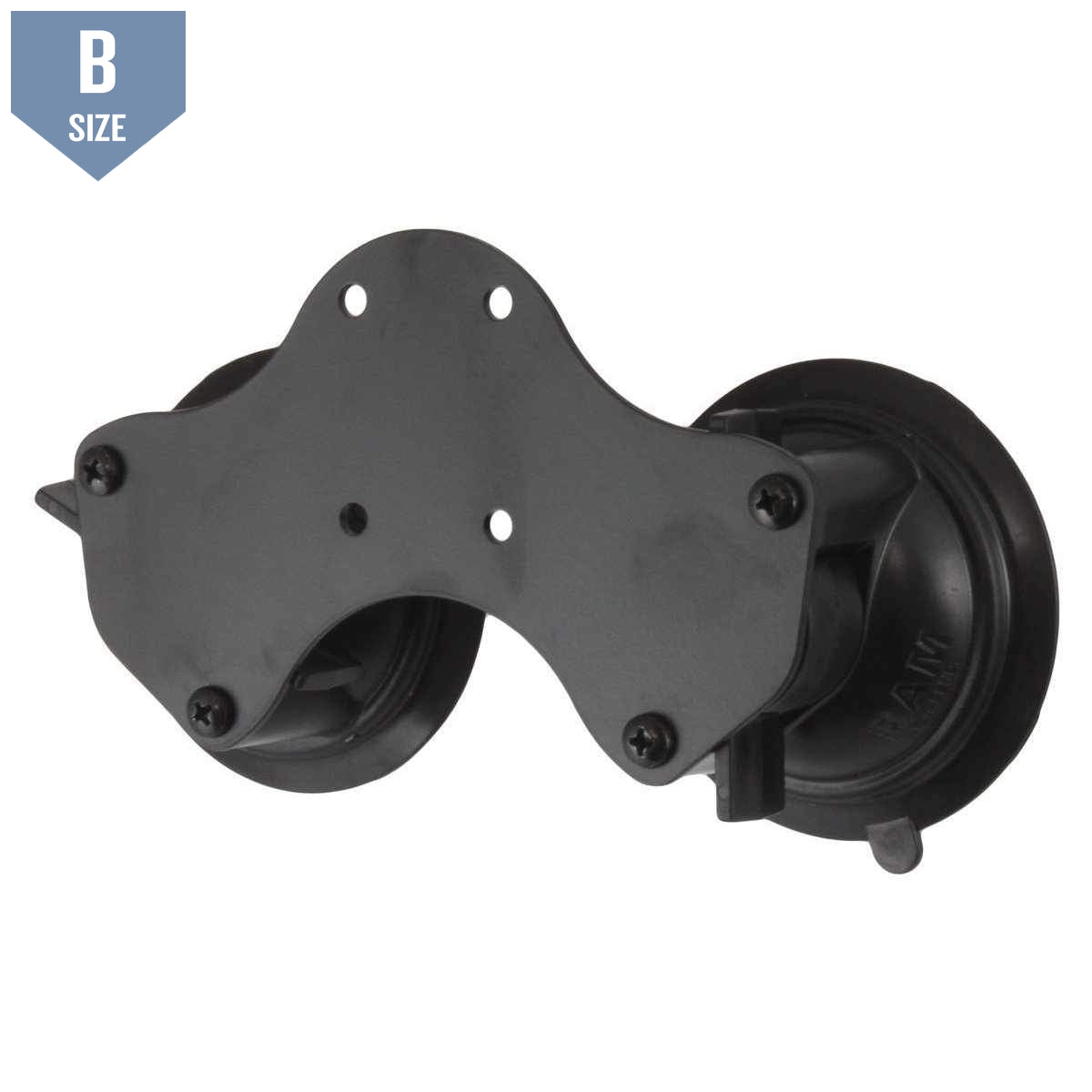 RAM Double Suction Cup Base (RAM-B-189BU) - Modest Mounts