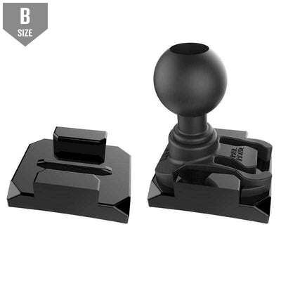 "RAM GoPro Mounting Base w 1"" Ball (RAP-B-202U-GOP2)-Modest Mounts"
