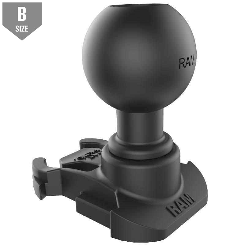 "RAM GoPro Mounting Base w 1"" Ball (RAP-B-202U-GOP2) - Modest Mounts"