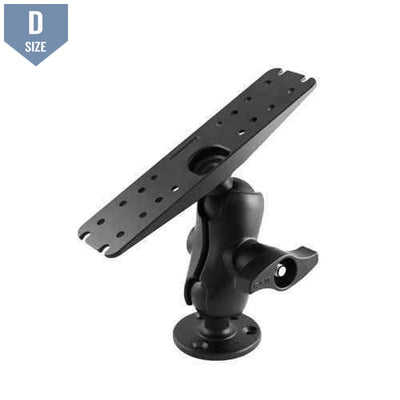 RAM Heavy Duty Marine Mount w Short Arm (RAM-D-111U-C) - Modest Mounts