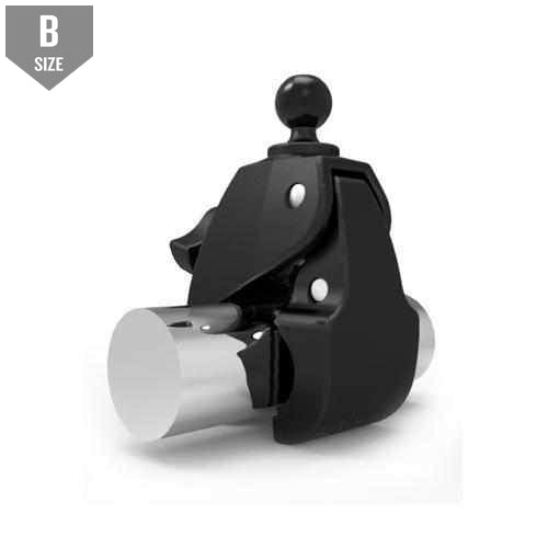 "RAM Large Tough-Claw Clamp w 1"" Ball (RAP-B-401U) - Modest Mounts"