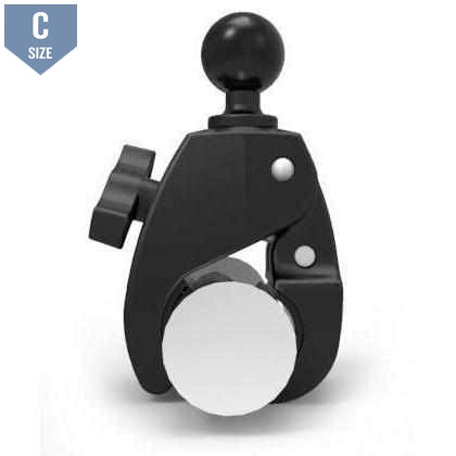 "RAM Large Tough-Claw Clamp w 1.5"" Ball (RAP-401U) - Modest Mounts"