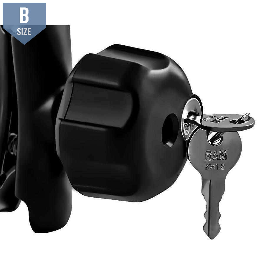 RAM Locking Knob for B Size Arm Clamps (RAM-KNOB3LU) - Modest Mounts
