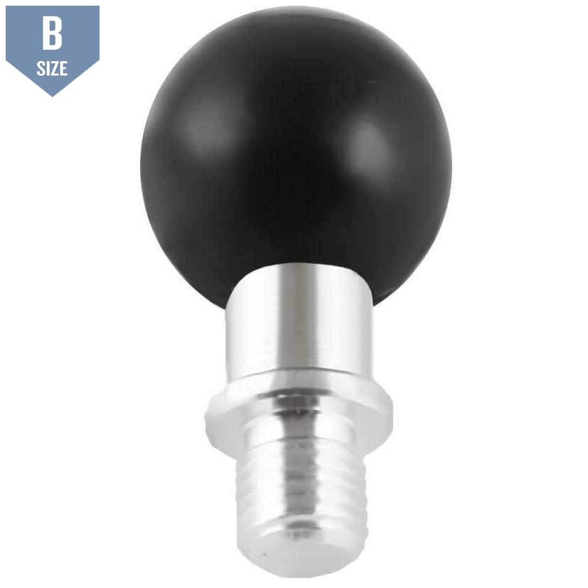 "RAM M10 x 1.25 Pitch Male Thread with 1"" Ball (RAM-B-349U) - Modest Mounts"