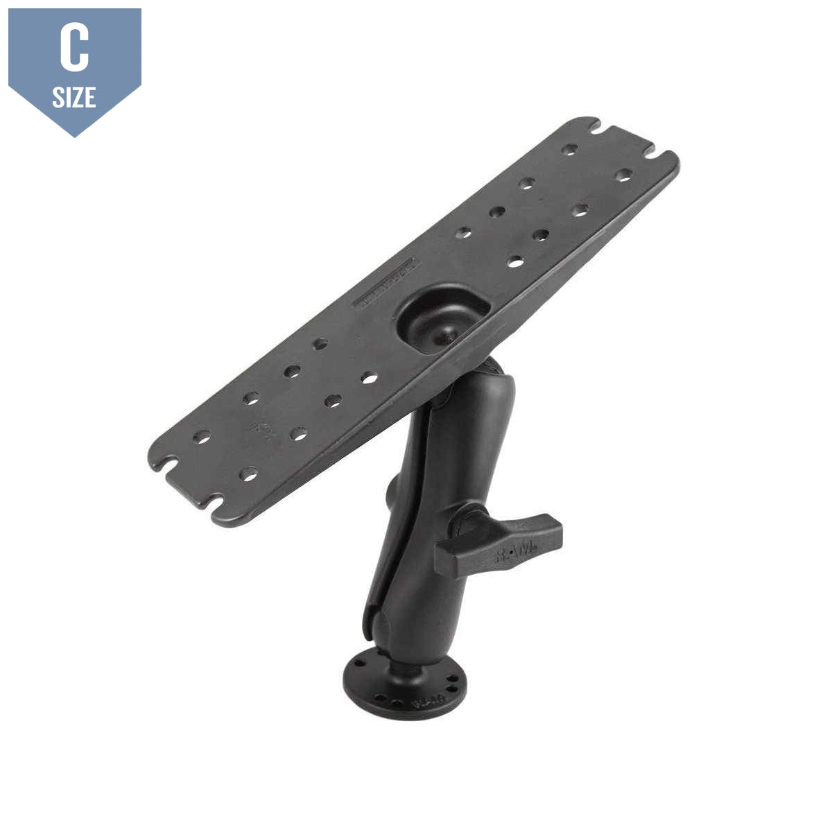 "RAM Marine Mount with 3"" x 11"" Plate (RAM-137U) - Modest Mounts"