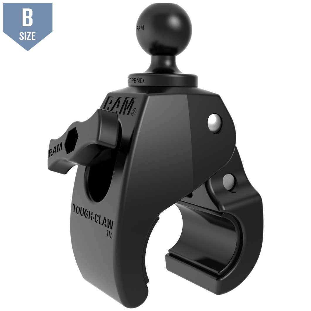 "RAM Medium Tough-Claw™ w 1"" Ball (RAP-B-404U) - Modest Mounts"