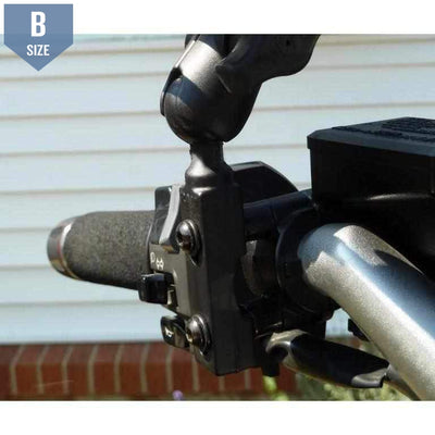"RAM Motorcycle Brake/Clutch Base with 1"" Ball (RAM-B-309-1U) - Modest Mounts"