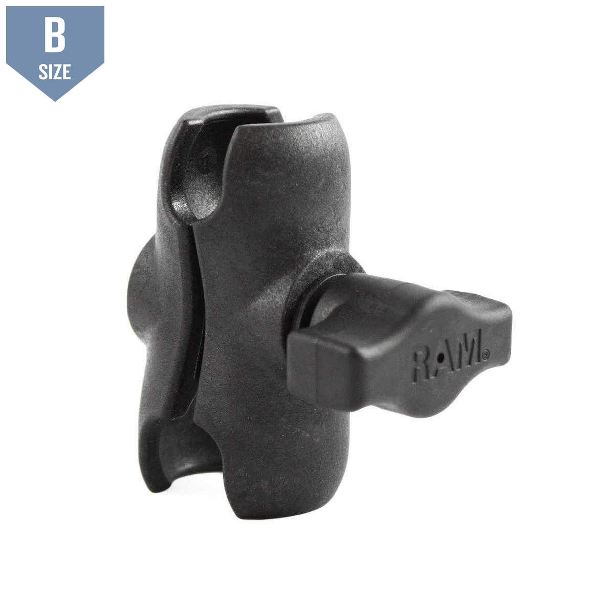 RAM Short Composite Clamp Arm B Size (RAP-B-201U-A) - Modest Mounts