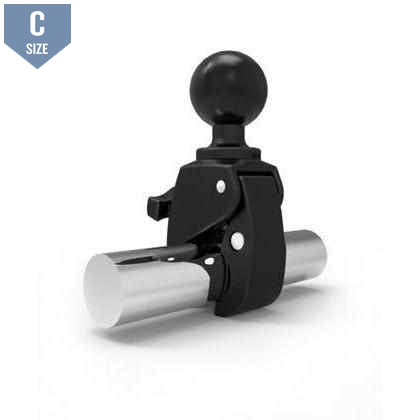"RAM Small Tough Claw Clamp with 1.5"" Ball (RAP-400U)-Modest Mounts"