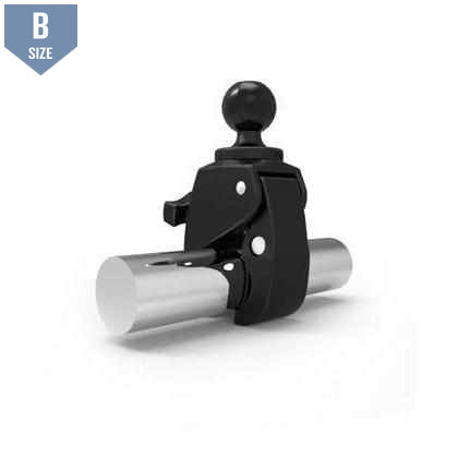 "RAM Small Tough-Claw™ Clamp w 1"" Ball (RAP-B-400U) - Modest Mounts"