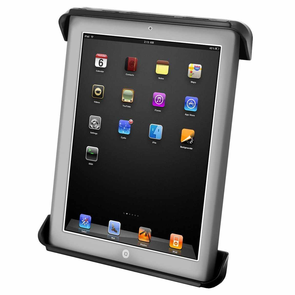 "RAM Tab-Tite™ Cradle for 10"" Tablets (RAM-HOL-TAB-LGU) - Modest Mounts"