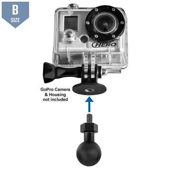 "RAM Tough-Ball 1/4"" GoPro (RAP-B-379U-252025)"