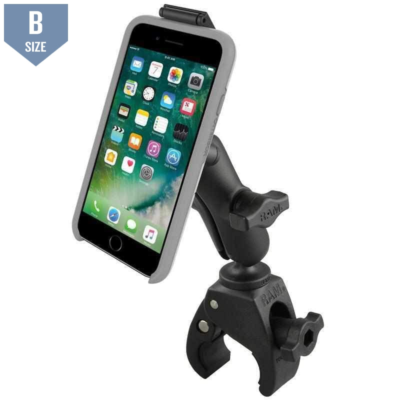 RAM Tough-Claw™ Mount for Phones w OtterBox Case (RAM-B-400-OT2U) - Modest Mounts