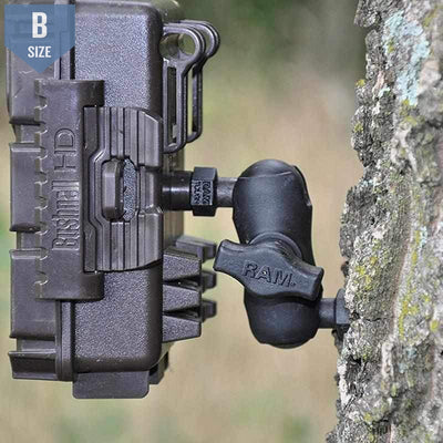 RAM Tough-Tap Trail Camera Mount (RAP-B-379-25201L-A-2520) - Modest Mounts
