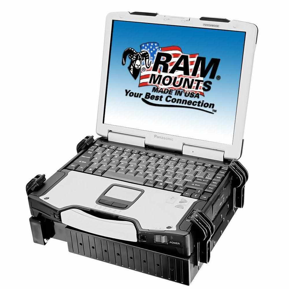 RAM Tough Tray™ Laptop Holder (RAM-234-3) - Modest Mounts