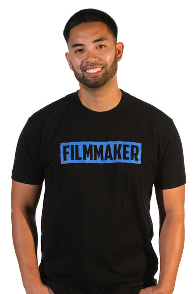 "Filmmaker ""Blue Blocker"" Tee"