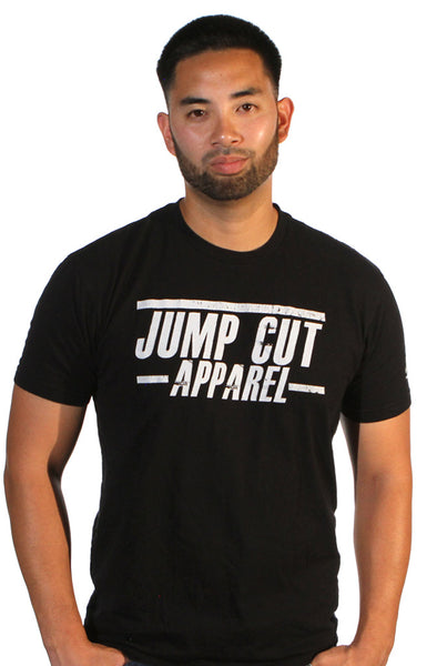 "Jump Cut Apparel ""Rough Edges"" Tee"
