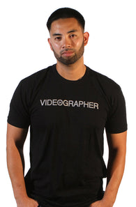 "Videographer ""Press Play"" Tee"