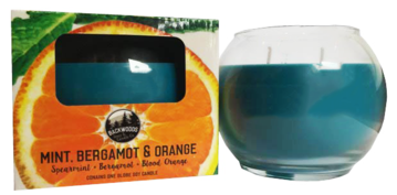 Mint, bergamot and orange globe
