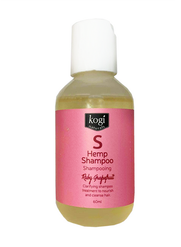 Ruby Grapefruit Hemp Shampoo 60ml