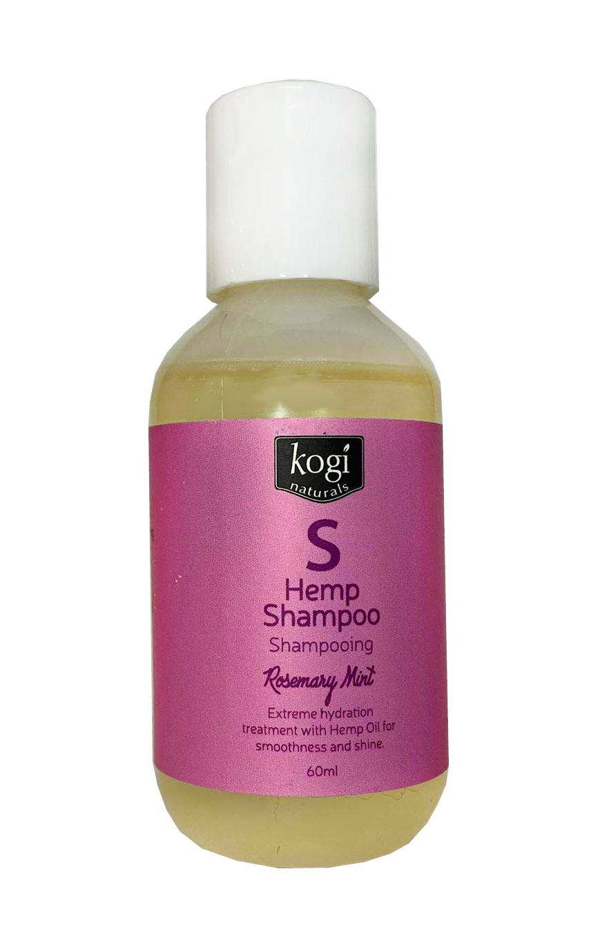 Rosemary Mint Hemp Shampoo 60ml