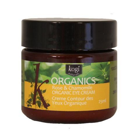 organic rose & chamomile eye cream 25ml