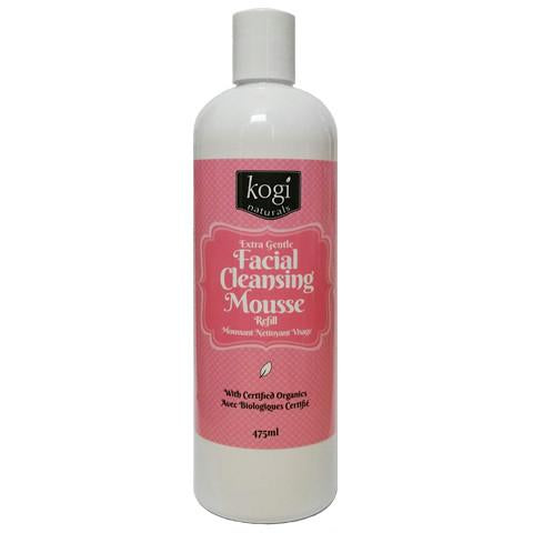 Extra Gentle Facial Cleansing Mousse Refill 475ml