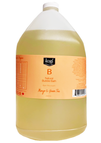 Bulk Mango & Green Tea Bubble Bath 4L