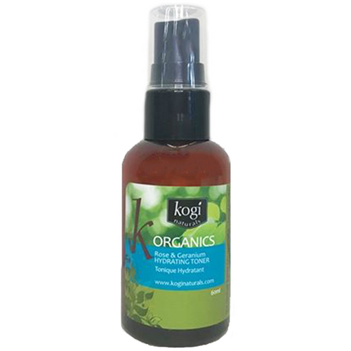Organic rose & geranium toner 60ml