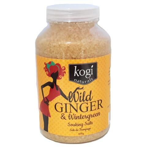 Bathing Salts - Wild Ginger & Wintergreen Salts 600g
