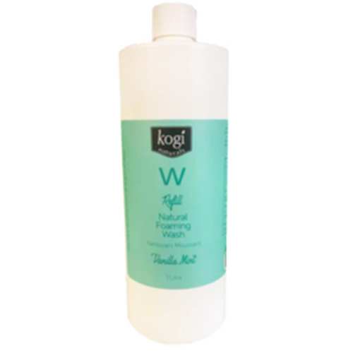 Vanilla mint foaming wash refill