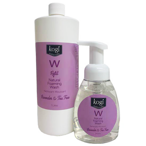 Lavender foaming wash and refill