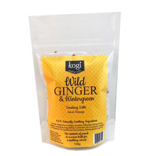 Bathing Salts - Wild Ginger & Wintergreen 150g