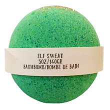 Elf Sweat Bath bomb