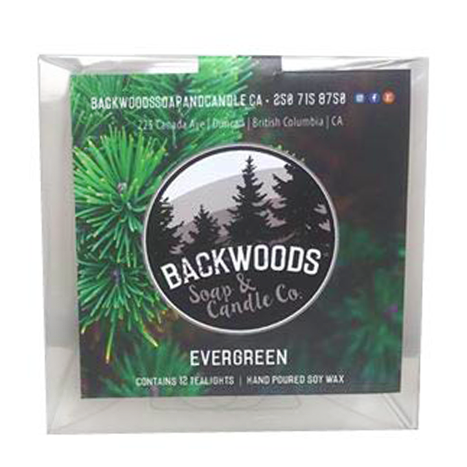 Evergreen Tealights