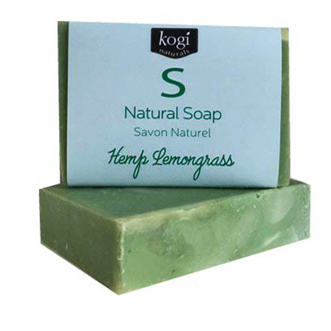 Natural Soap - Hemp Lemongrass Eucalyptus