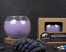 Grape soda globe