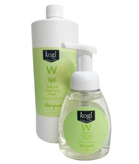Lemongrass foaming wash and refill