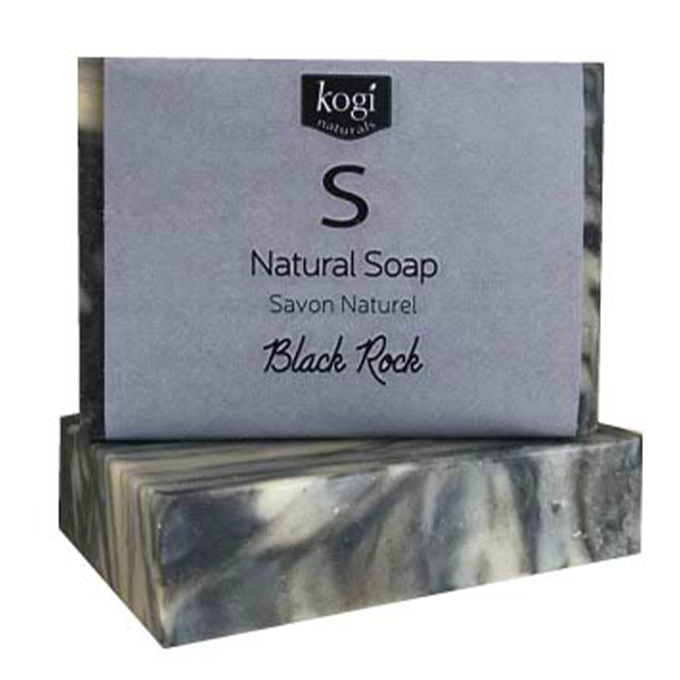 Natural Soap - Black Rock
