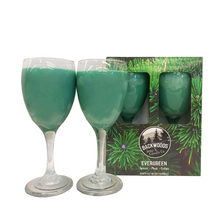 Evergreen Wine Glass Set