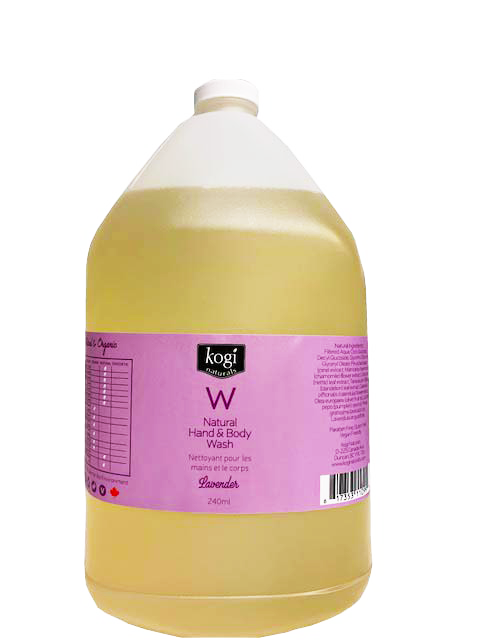 Bulk Lavender Body Wash 4L