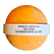 Mango & Green Tea Bathbomb