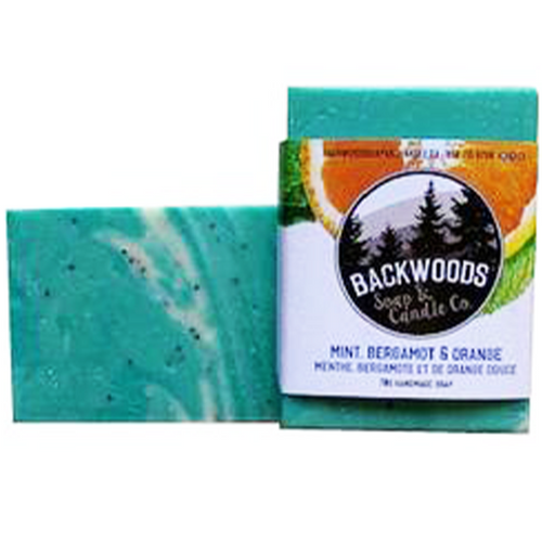 Mint, Bergamot and Orange Soap